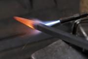 hierro al rojo, trabajar el metal